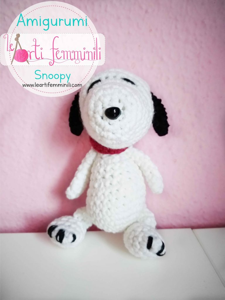 Pupazzi Uncinetto Snoopy