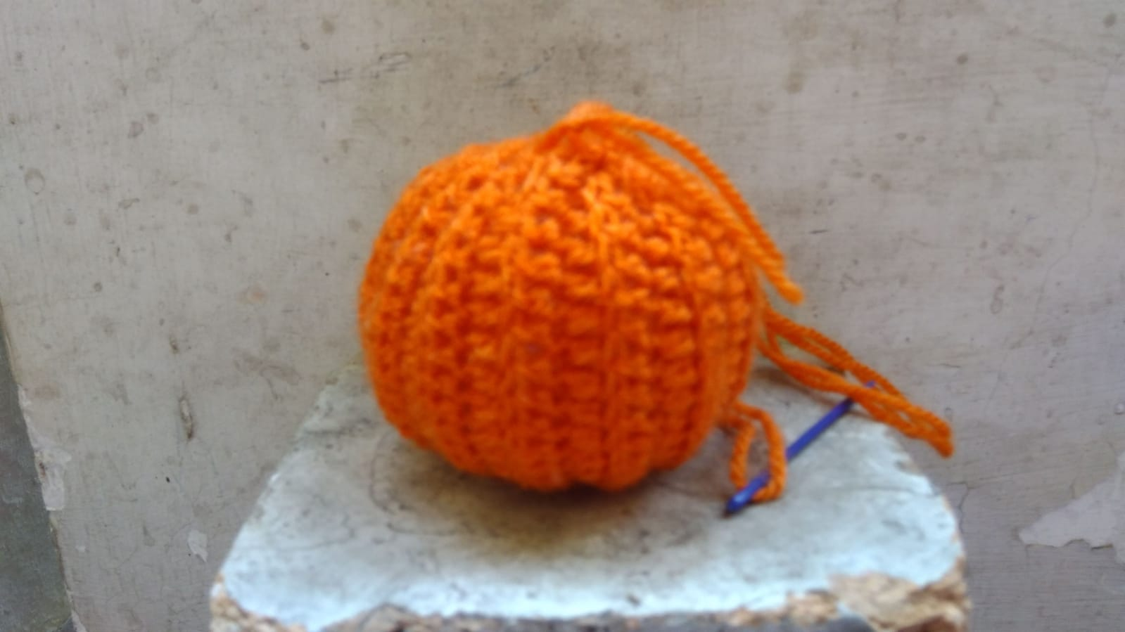 Zucca Uncinetto Halloween