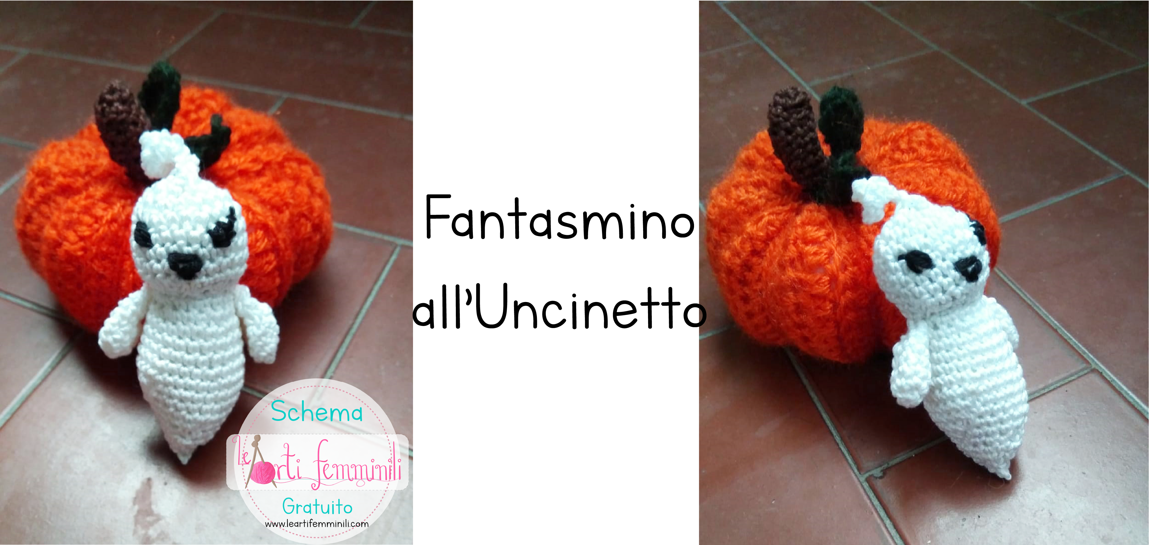 Fantasmino Uncinetto Halloween