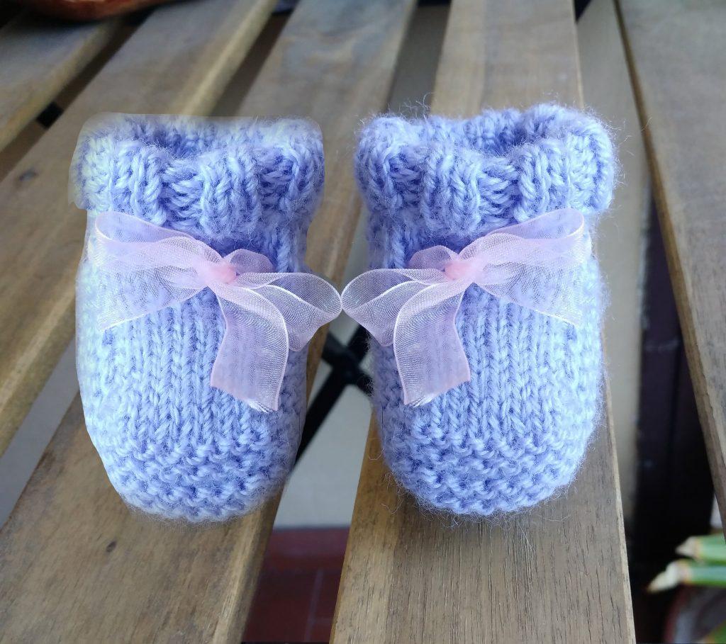 scarpine neonati ai ferri