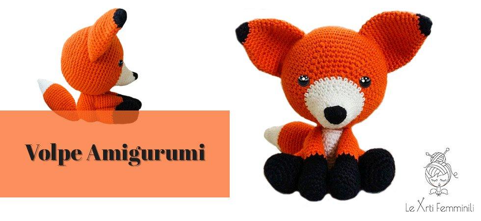 Volpe Portachiavi Amigurumi Tutorial 🦊 Fox Keychain Crochet ... | 450x980