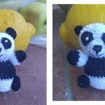 Amigurumi Orsetto Panda