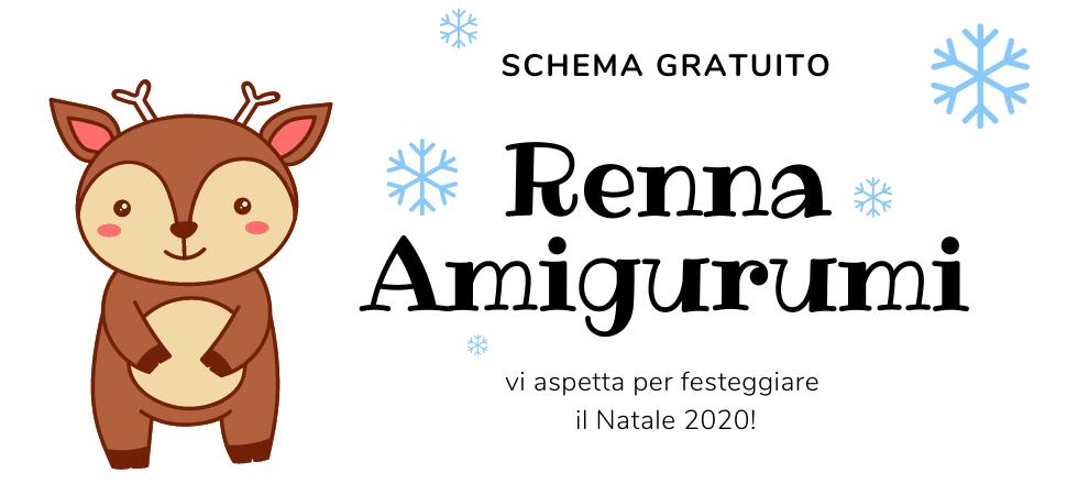 Renna Amigurumi
