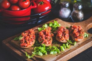 crostini ai pomodorini ricetta