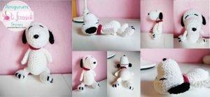 Schema Snoopy Amigurumi
